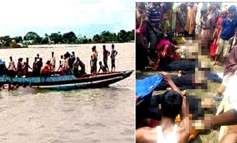গুমাই নদীতে ট্রলারডুবি : ১০ লাশ উদ্ধার