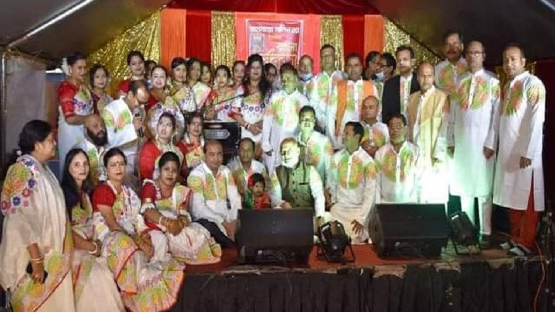 মহামায়া মন্দিরে বাঙলা বর্ষবরণ
