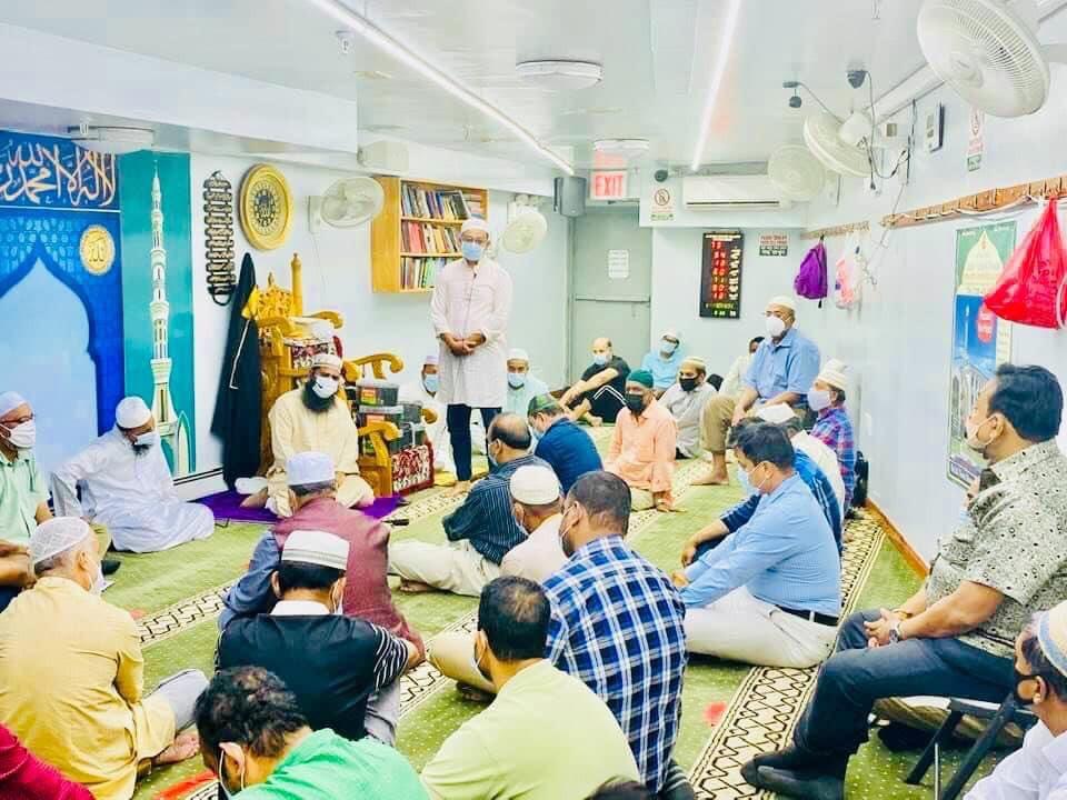 মরহুম আব্দুল বাড়ী সাহেবের মৃত্যুবার্ষিকী উপলক্ষে দোয়া মাহফিল