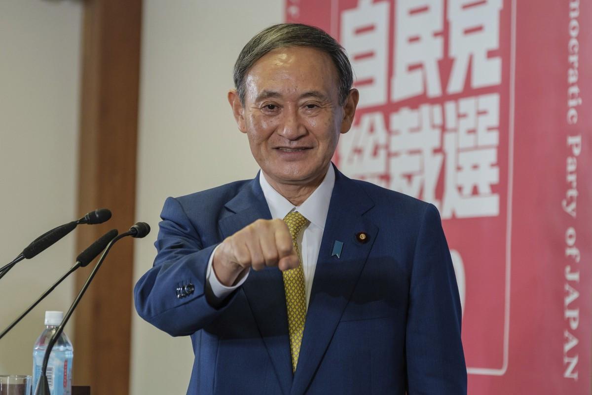 জাপানের নতুন প্রধানমন্ত্রী ইয়োশিহিদে সুগা