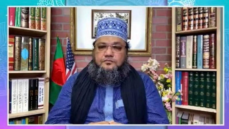 খতিব আব্দুল হাকিম আযাদীকে 'এফবি টিভি সম্মাননা'
